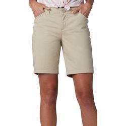 Lee Womens Twill Bermuda Shorts