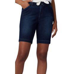 Lee Womens Denim Bermuda Shorts