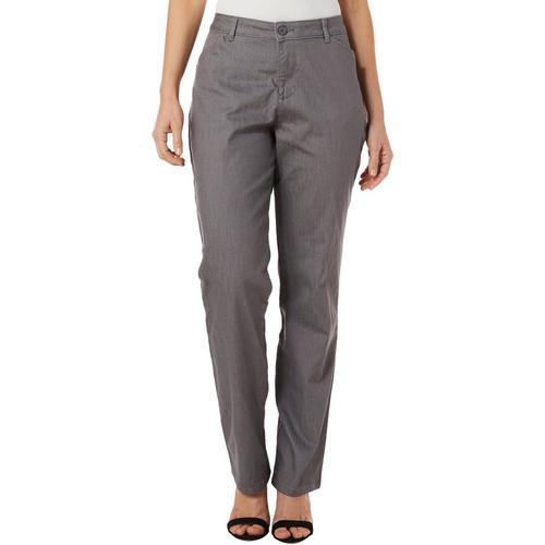 GloryA Mens Solid Breathable Comfy Casual Straight Leg Long Pants