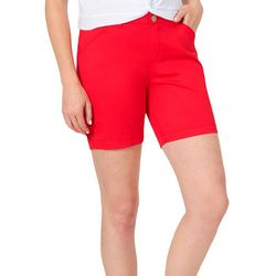 Lee Womens Regular Fit Solid Chino Shorts