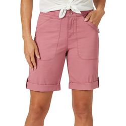 Lee Womens Relaxed Flex-To-Go Bermuda Shorts