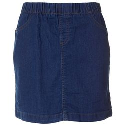 Coral Bay Womens Denim Skort