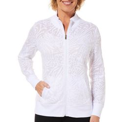 Coral Bay Womens Palm Burnout Jacket