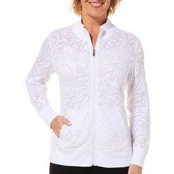 Womens Palm Burnout Jacket