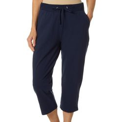 Womens Go Anywhere Solid Capris