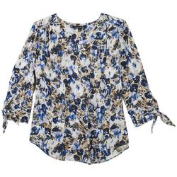 Womens Floral Printed Blouse