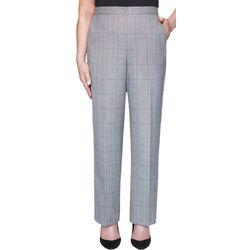 Womens Plaid Pull On Short Pants