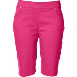 Coral Bay Womens 10 Solid Design Shorts