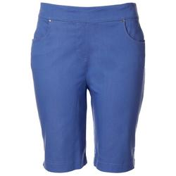 Womens 10 Solid Design Shorts
