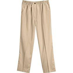 Womens Microfiber Pull On Pants