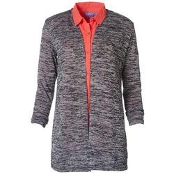 Victory Sportswear Womens Solid Open Knit Cardigan