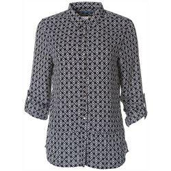 Victory Sportswear Womens Geometric Collared Shirt
