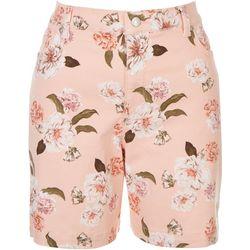 Gloria Vanderbilt Womens Floral Shorts