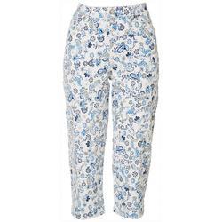 Womens Amanda Paisley Capri Pants