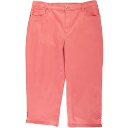 Gloria Vanderbilt Womens Amanda Capri Denim Jeans
