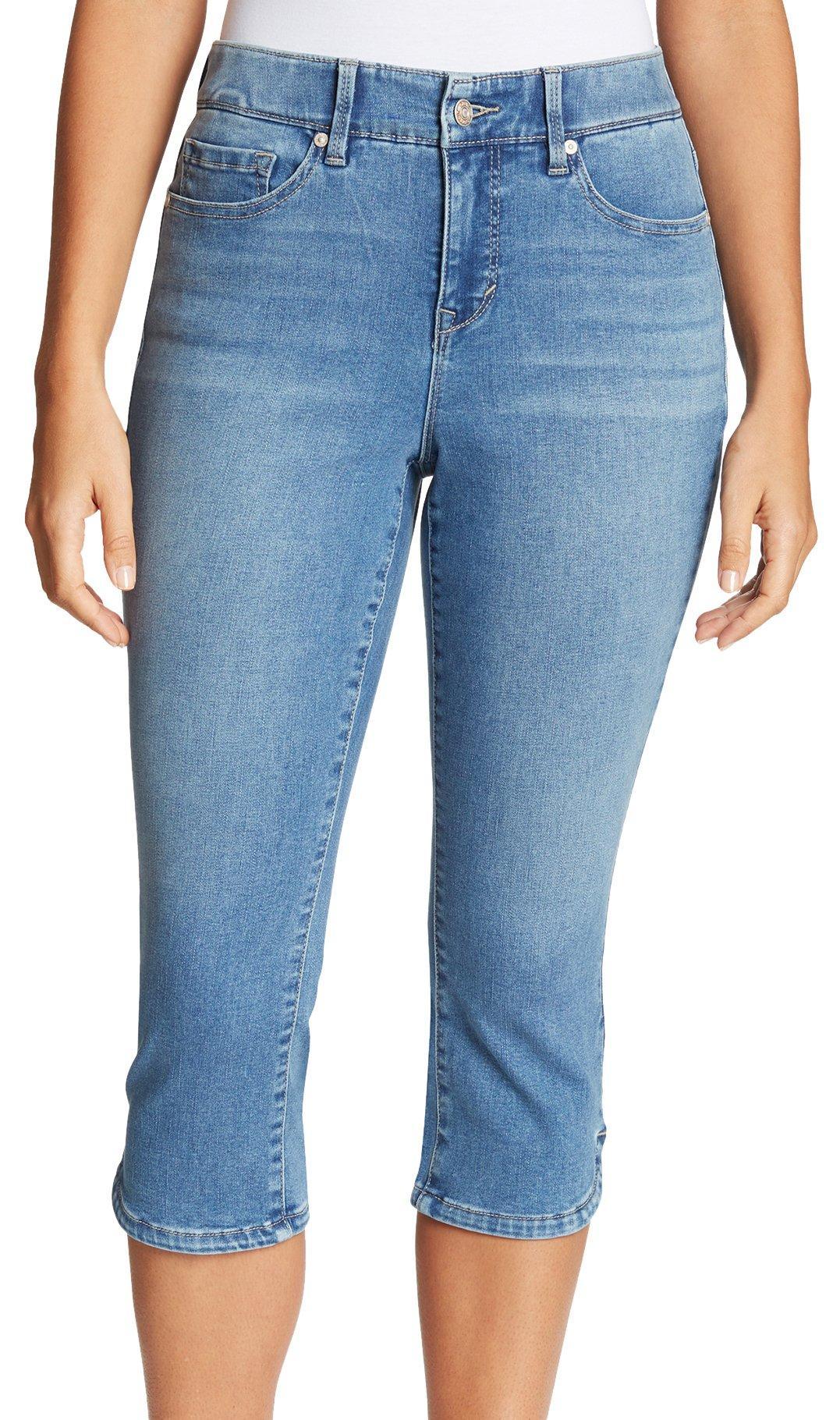 Gloria Vanderbilt Womens Comfort Curvy Skinny Jean Capri Length Jeans