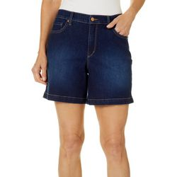 Gloria Vanderbilt Womens Amanda Denim Shorts