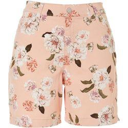 Gloria Vanderbilt Womens Amanda Floral Shorts