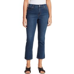 Gloria Vanderbilt Womens Flare Leg Crop Jeans