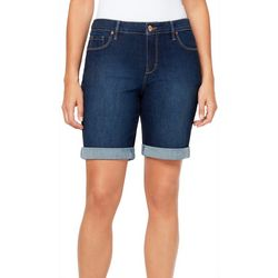 Gloria Vanderbilt Womens Denim City Shorts
