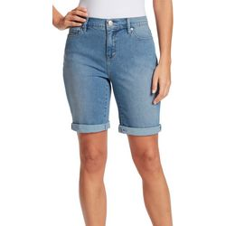Gloria Vanderbilt Womens Denim City Shorts