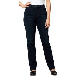 Gloria Vanderbilt Womens Amanda Original Denim Jeans
