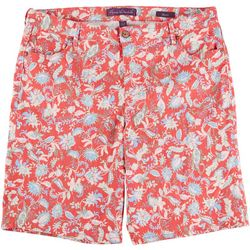 Gloria Vanderbilt Womens Floral City Shorts