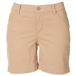 Gloria Vanderbilt Womens Amanda Essential Shorts