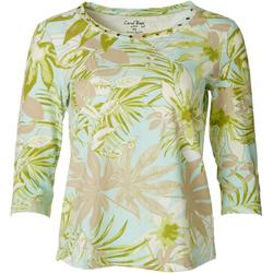 Womens Palm Frond Top
