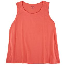 Coral Bay Womens Everyday Scoop Neck Tank Top