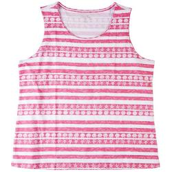 Womens Shells & Stripes Tank Top