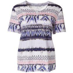 Coral Bay Womens Biadere Short Sleeve Shirt