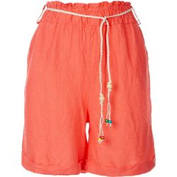Kaktus Womens Paperbag Wide Shorts