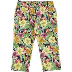 ATTYRE Womens Tropical Cropped Bengaline Trousers