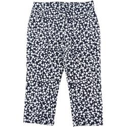 Womens Dotted Print Crop Pants