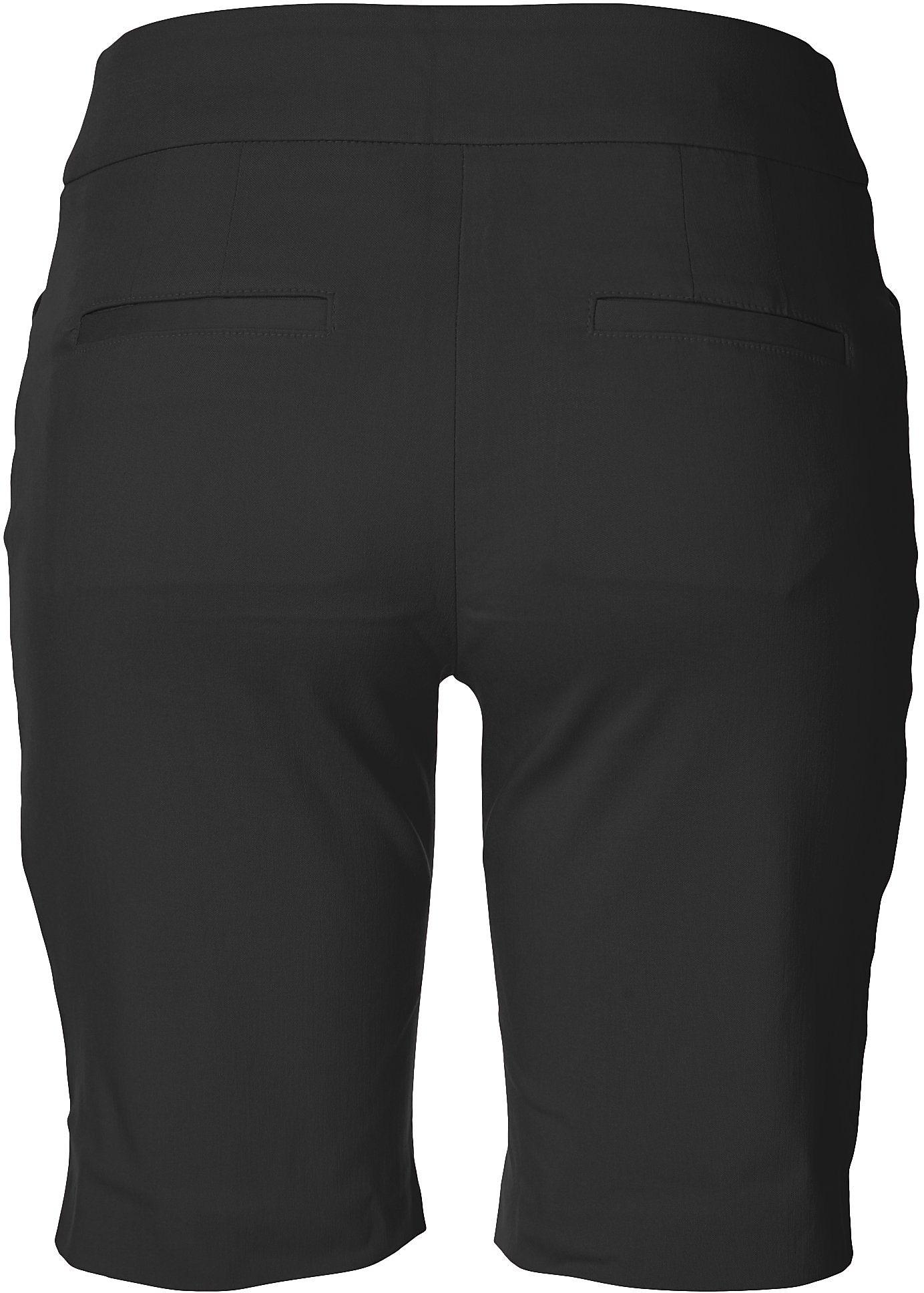 thumbnail 4 - ATTYRE Womens Solid Bermuda Shorts