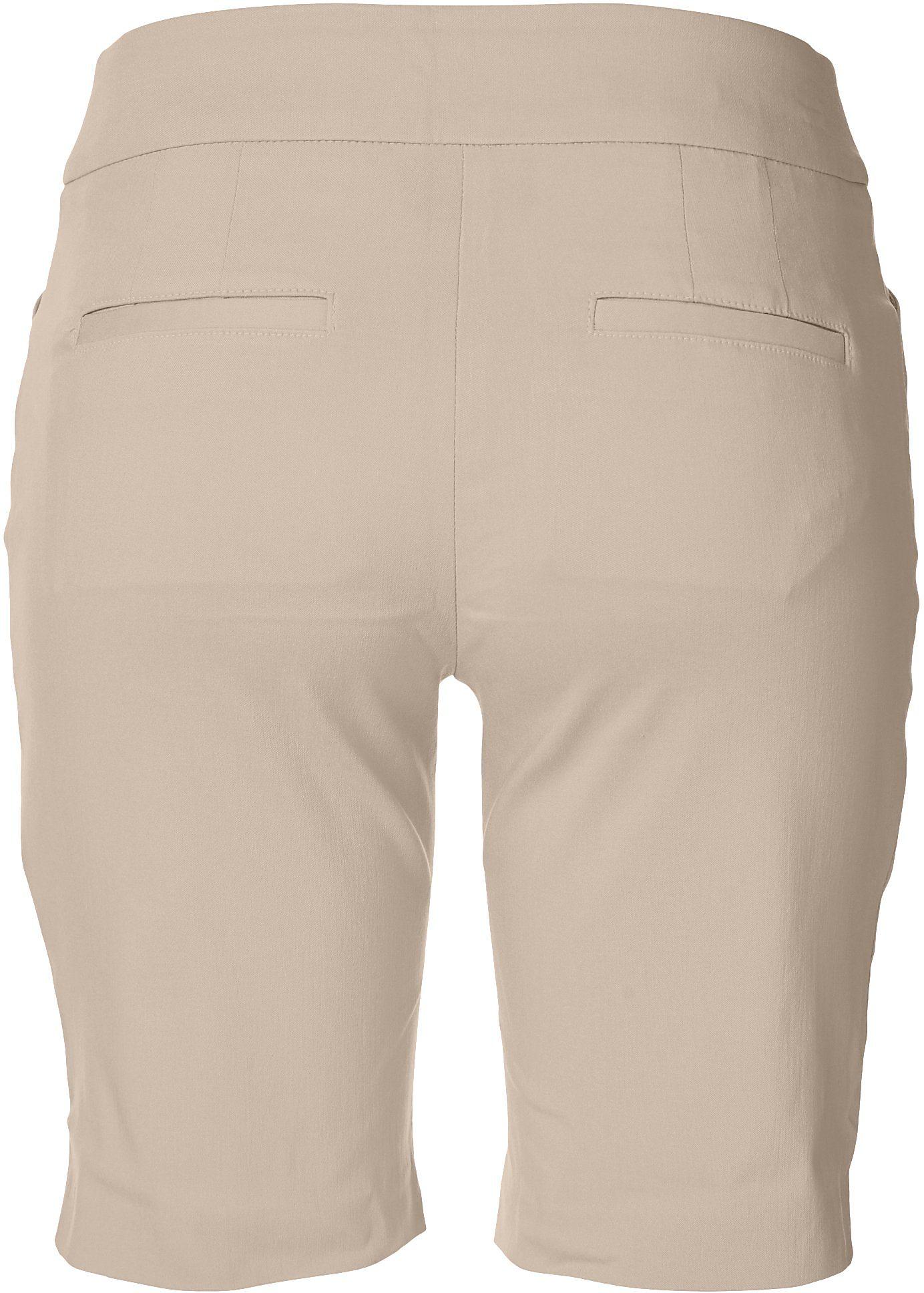 thumbnail 8 - ATTYRE Womens Solid Bermuda Shorts
