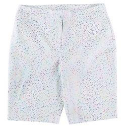 ATTYRE Plus Confetti Printed Bermuda Shorts