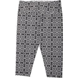 Womens Suave Kaleidoscope Capri Leggings