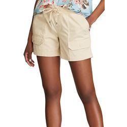 Chaps Womens Safari Cargo Shorts