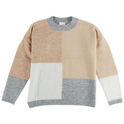 Adyson Parker Womens Color Block Sweater
