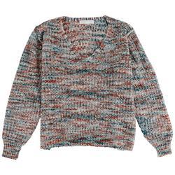 Womens Multi Color Sweater