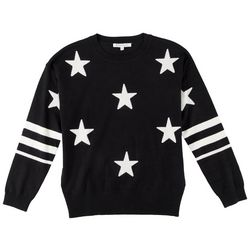 Workshop Womens All-over Stars Cozy Sweater