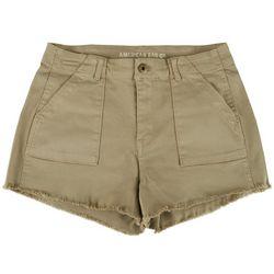 American Rag Womens Scuplt Frayed Denim Shorts