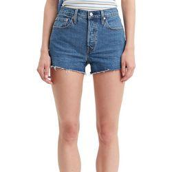 Levi's Womens Classic Frayed Denim Shorts