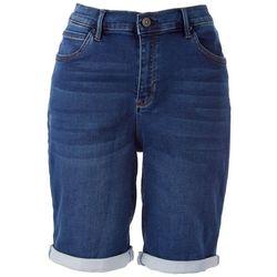 Nicole Miller SoHo High Rise Cuff Shorts