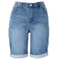 Nicole Miller SoHo High Rise Roll Shorts