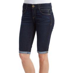 Democracy Womens Ab-solution Whiskered Bermuda Shorts