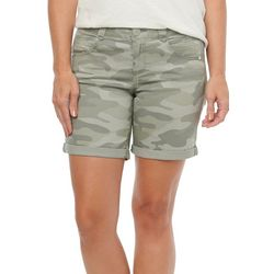 Democracy Womens Solid Colored Shorts