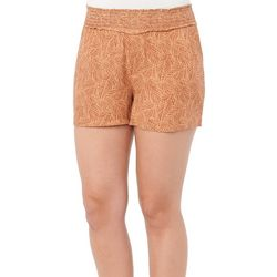 Democracy Womans Patterened Super Soft Printed Shorts